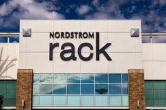 Esterno della vendita al dettaglio dello scaffale di Nordstrom Fotografie Stock Libere da Diritti