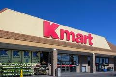 Esterno della vendita al dettaglio di Kmart Immagini Stock Libere da Diritti