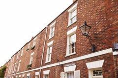 Esterno delle Camere a terrazze a Oxford Fotografia Stock