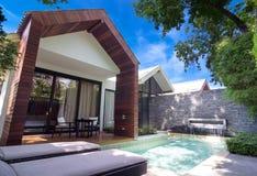 Esterno di architettura della località di soggiorno X2 è un'alta località di soggiorno del boutique di progettazione Fotografia Stock