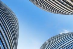 Esterno 3 di architettura di soho di Wangjing Immagini Stock Libere da Diritti