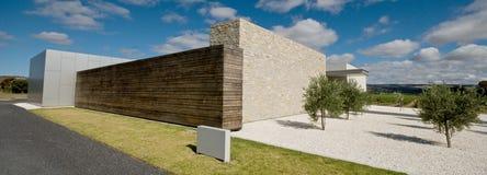 Esterno di architettura moderna Fotografia Stock Libera da Diritti