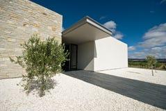 Esterno di architettura moderna Fotografie Stock