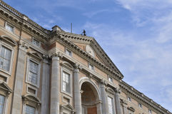 Esterno di Caserta Royal Palace Fotografia Stock