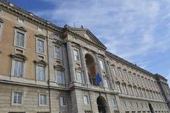 Esterno di Caserta Royal Palace Immagine Stock Libera da Diritti