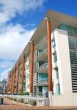 Esterno di lusso dell'appartamento Immagini Stock Libere da Diritti