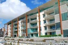 Esterno di lusso dell'appartamento fotografie stock libere da diritti