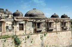 Esterno di Sarkhej Roja, Ahmedabad, India Fotografia Stock