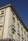 Costruzione d'angolo di Budapest Fotografia Stock