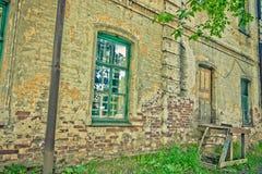 Esterno di vecchia costruzione Fotografia Stock