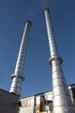 Esterno industriale 1 Fotografie Stock Libere da Diritti