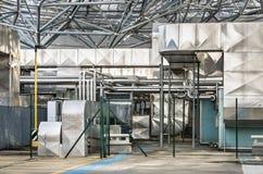 Esterno industriale Fotografia Stock