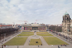 Esterno magnifico del museo di Altes Fotografia Stock