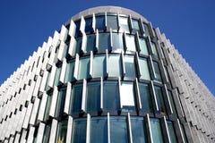 Esterno moderno del grattacielo Fotografie Stock Libere da Diritti