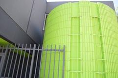 Esterno verde e grigio dell'assenzio Fotografie Stock Libere da Diritti