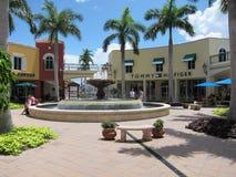 estero Florida miromar ujście zdjęcie stock
