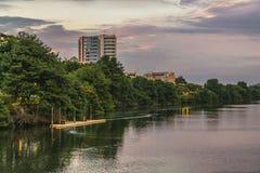 Estero Salado Rzeczny Guayaquil Ekwador fotografia stock