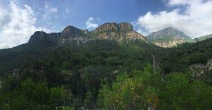 Esteron delle montagne Immagine Stock