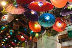 Estes de Gracia в ноче barcelona Испания Стоковые Изображения
