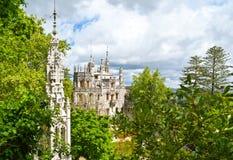 O palácio de Regaleira Fotografia de Stock Royalty Free