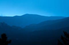 Estes Park Colorado Rocky Mountain Sunset / Sunrise Stock Photography