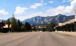 Estes Park - Kolorado Lizenzfreies Stockfoto