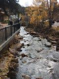 Estes Park Stream fotografia de stock