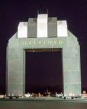 Estes Plaza και η αψίδα Overlord - εθνικό μνημείο μέρας-μ Στοκ Εικόνες