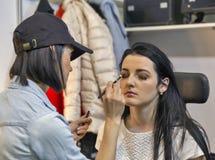 Estet Beauty Expo in Kiev, Ukraine. Royalty Free Stock Image