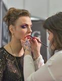 Estet Beauty Expo in Kiev, Ukraine. Royalty Free Stock Photo