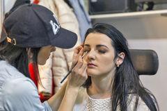Estet Beauty Expo in Kiev, Ukraine. Stock Photo