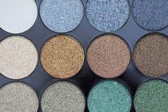 Estetiche decorative Le ombre dei colori differenti Fotografia Stock Libera da Diritti