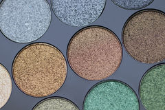 Estetiche decorative Le ombre dei colori differenti Immagine Stock
