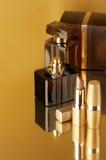 Estetiche su oro Fotografia Stock Libera da Diritti