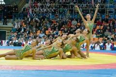 Estetisk gymnastik Arkivfoton