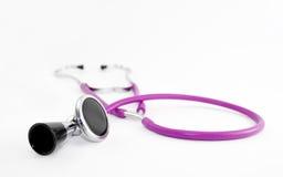 Estetoscópio cor-de-rosa Fotos de Stock Royalty Free