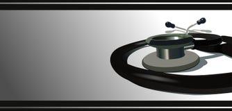 Estetoscopio Stock de ilustración