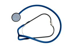 Estetoscopio médico Foto de archivo libre de regalías