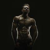 Estetyczny bodybuilding Zdjęcia Stock