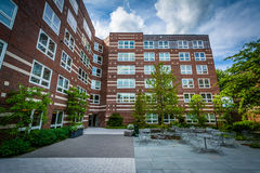 Esteves Hall at Harvard Business School, in Boston, Massachusett Royalty Free Stock Images