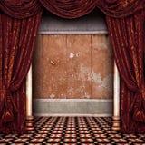 Estágio do teatro Fotografia de Stock Royalty Free