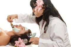 Esthetician Stock Photo