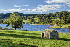 Esthwaite Water Royalty Free Stock Photography