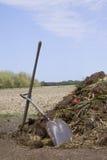 Estiércol vegetal del país Fotografía de archivo libre de regalías