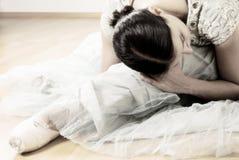 Esticão da bailarina Foto de Stock