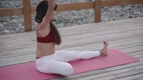 Esticão da mulher da ioga filme