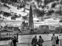 Estilhaço de Londres da arquitetura da cidade de Londres Foto de Stock Royalty Free