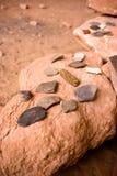 Estilhaços da cerâmica Imagem de Stock Royalty Free