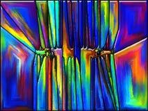 Estilhaços da cor Imagens de Stock Royalty Free