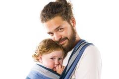 Estilingue do bebê fotografia de stock royalty free